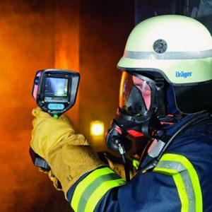 کاربرد دوربین ترموویژن ارزان قیمت در آتشنشانی