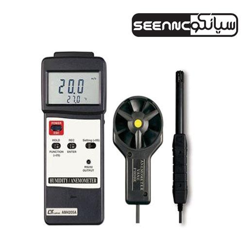 فلومتر سرعت سنج باد AM-4205A