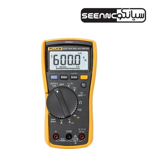 مولتیمتر دیجیتال ،ولت متر ،آوومتر فلوک FLUKE 117