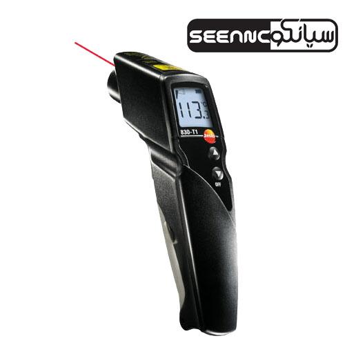 حرارت سنج ,ترمومتر لیزری مدل testo 830