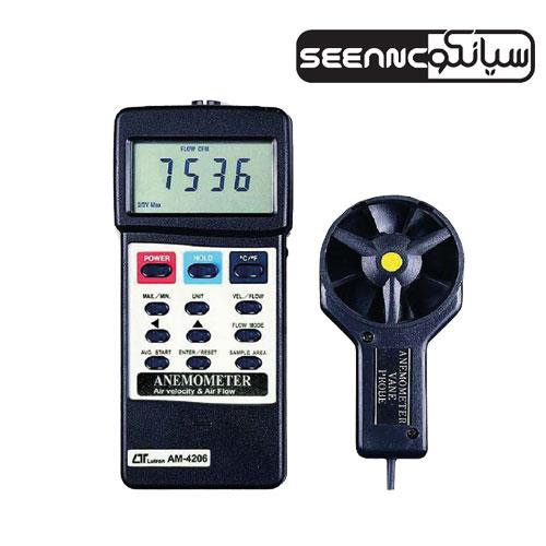 دستگاه فلومتر ،سرعت سنج باد مدل AM-4206