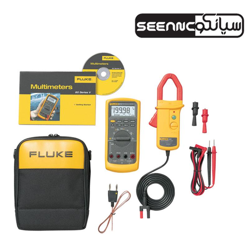کیت مولتی متر دیجیتال صنعتی فلوک مدل Fluke 87V/i410 Combo Kit