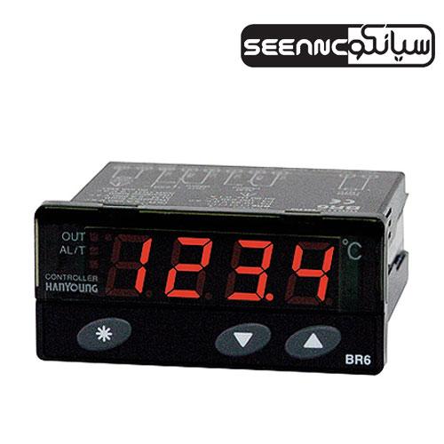 کنترلر دما با ابعاد کوچک هانیانگ HANYOUNG BR6-FNMP4