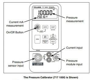 کالیبراتور فشار فلوک fluke 717