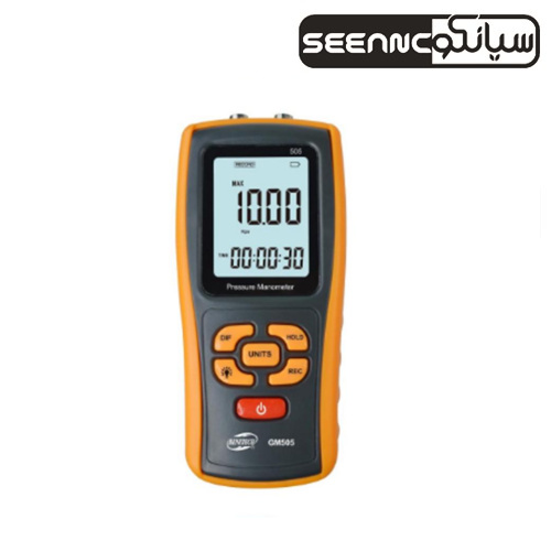 فشار سنج دیجیتال تفاضلی ارزان قیمت بنتک مدل BENETECH GM 505
