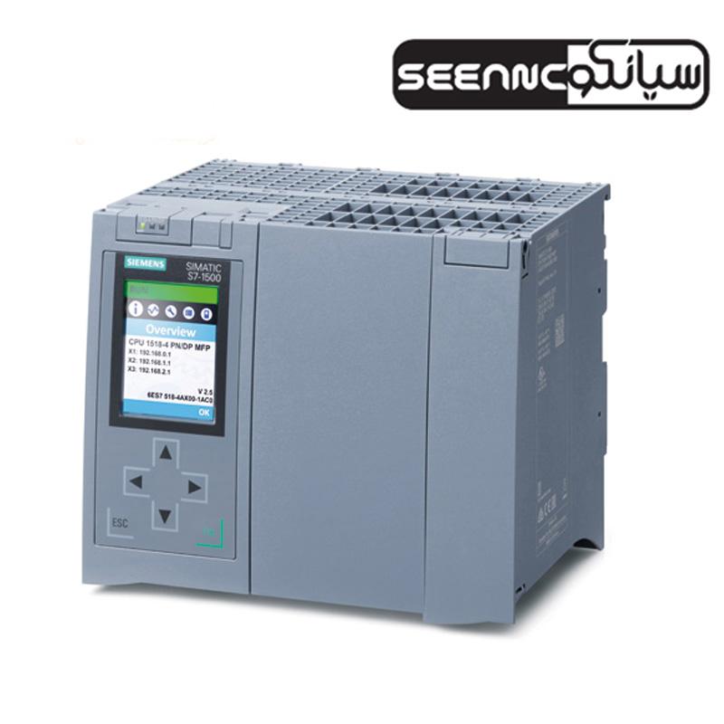 پی ال سی زیمنس مدل SIMATIC S7 CPU 1518-4 PN-DP MPF