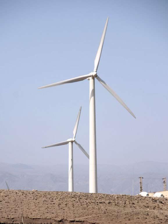 اشنایی با نیروگاه های بادی