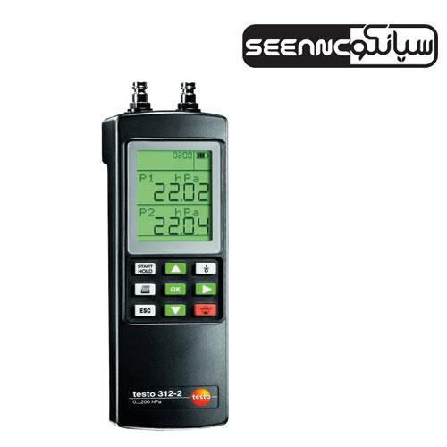 فشارسنج لوله های گاز و آب مدل TESTO 312-2,3,4