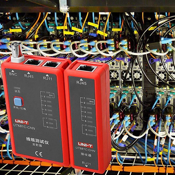 دستگاه تستر شبکه یونیتی مدل UNI-T UT-681C