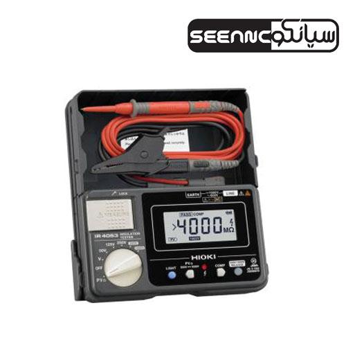 تست عایق کابل دیجیتال 1000 ولت مدل HIOKI IR-4053-10