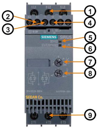 سافت استارتر زیمنس 3RW30