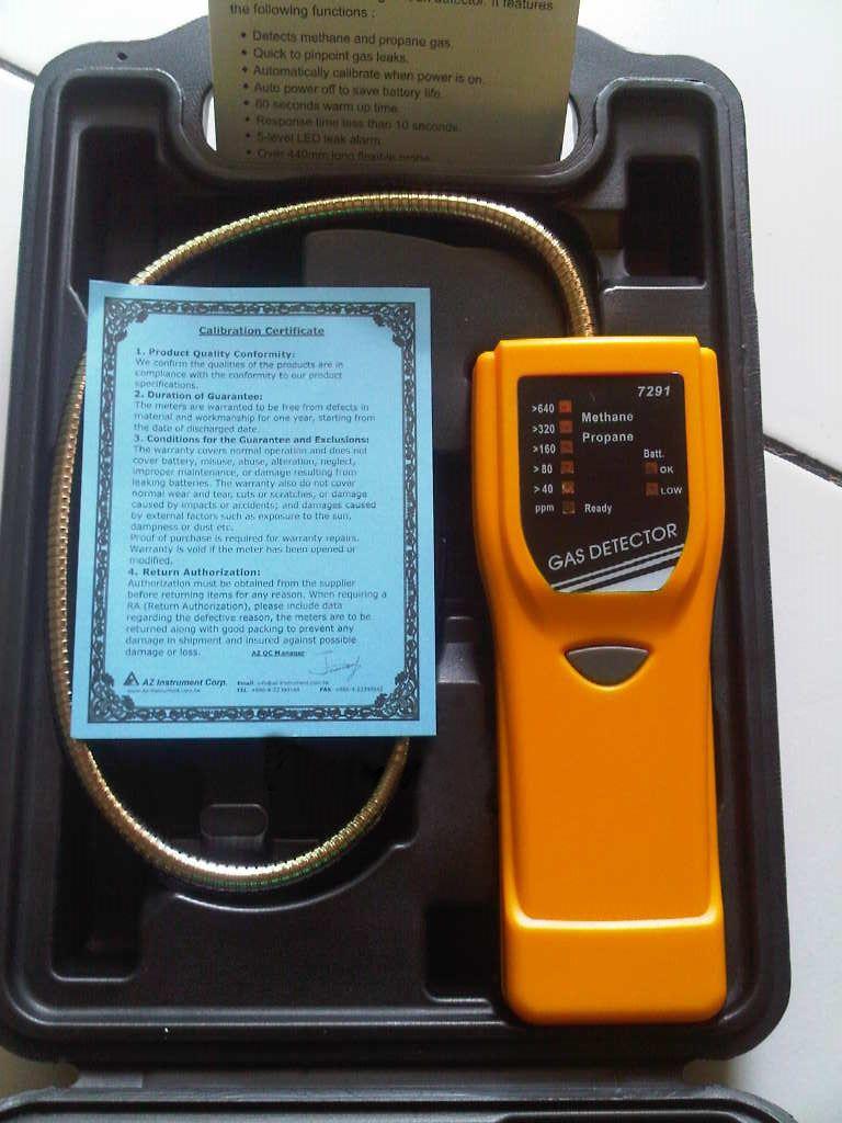 دستگاه نشت یاب دیجیتال گاز 7291 AZ