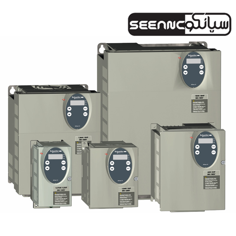 اینورتر سه فاز اشنایدر مدل SCHNEIDER ATV31_HU30N4