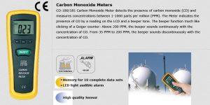 دستگاه سنجش منواکسید کربن دیجیتالی CEM CO-181