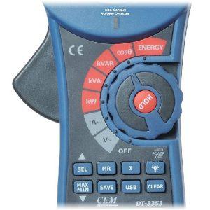 کلمپ پاورمتر ارزان قیمت سی ای ام CEM DT-3353