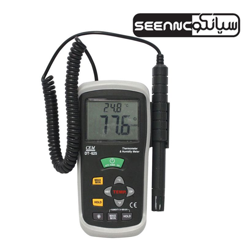 رطوبت سنج و دماسنج محیطی ارزان قیمت CEM DT-625