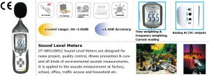 CEM DT-8851 Digital Sound Level Meter-10