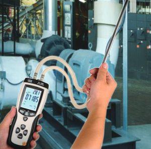 CEM DT-8920 PRESSURE & FLOW METER-