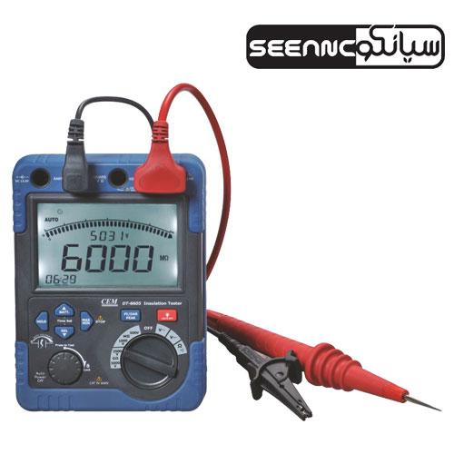 تستر عایق کابل ولتاژ بالا،میگر5 کیلو ولت CEM DT-6605