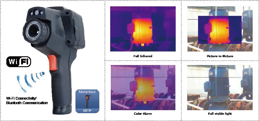 دوربین حرارتی، ترموویژن حرفه ای سی ای ام CEM DT-9885