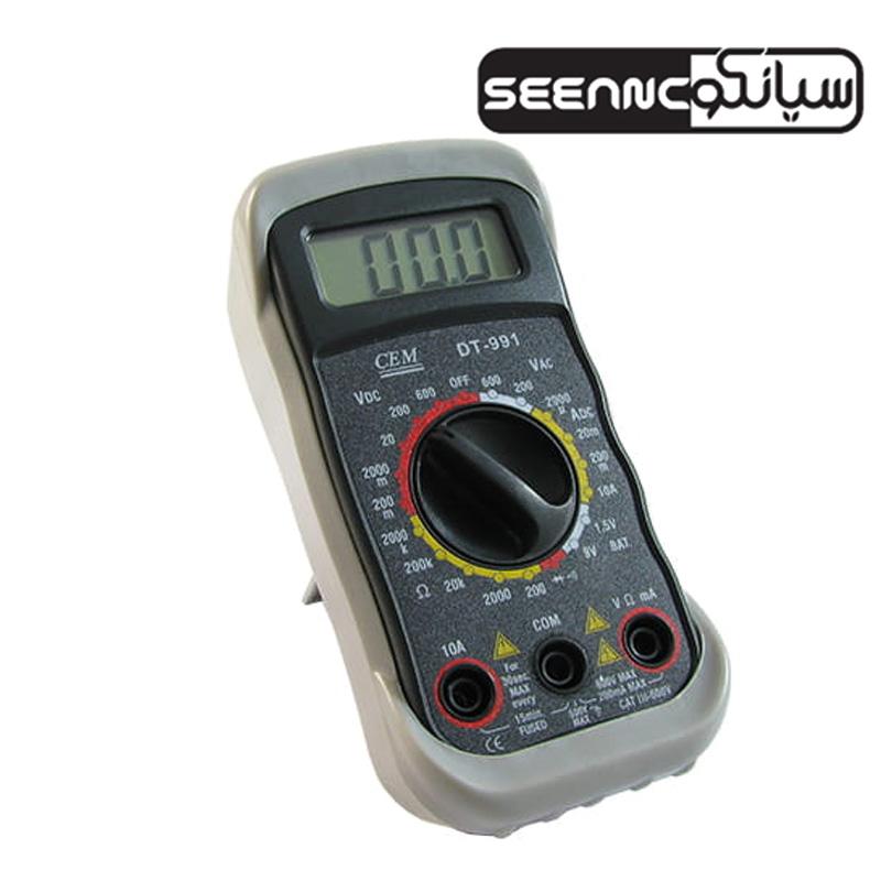 مولتی متر دیجیتال سی ای ام مدل CEM DT-991