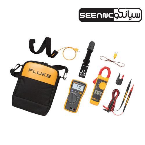مولتیمتر دیجیتال ، ولت متر ، آوومتر فلوک 323/FLUKE 117