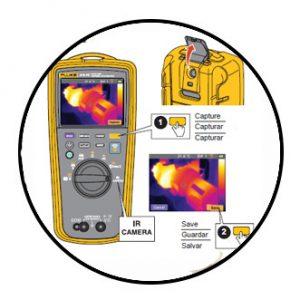 دوربین حرارتی و مولتی متر دیجیتال فلوک
