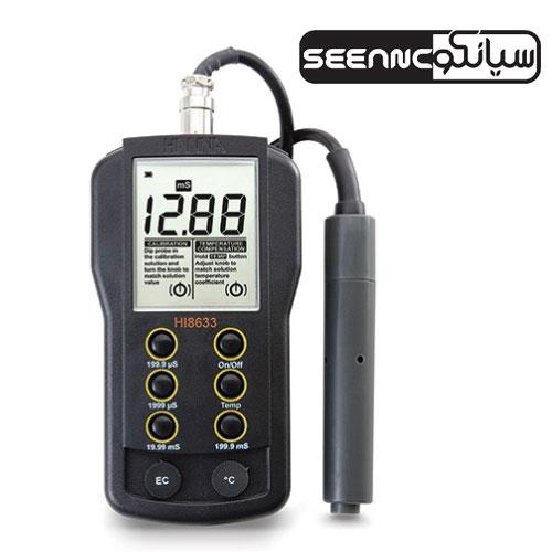 دستگاه ECمتر مولتی رنج HANNA HI-8633
