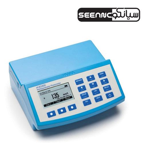 دستگاه فتومتر مولتی پارمتر رومیزی هانا آمریکا مدل HANNA HI-83300-02