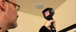 کاربرد دوربین حرارتی در تاسیسات ساختمانی