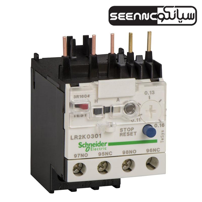 بی متال اضافه بار حرارتی اشنایدر الکتریک سری LRK