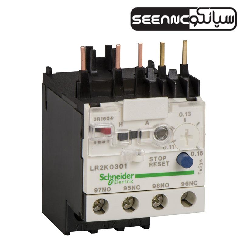 بیمتال اضافه بار حرارتی اشنایدر الکتریک سری LRD