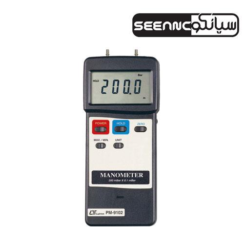فشار سنج مانومتر دیجیتال لوترون مدل LUTRON PM-9102