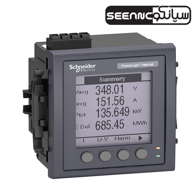 پاورمتر تابلویی دیجیتال اشنایدر مدل Schneider PM5100
