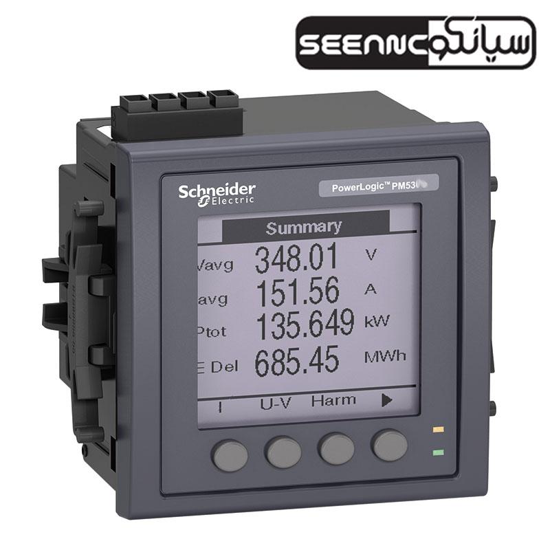 پاورمتر تابلویی دیجیتال اشنایدر مدل Schneider PM5310