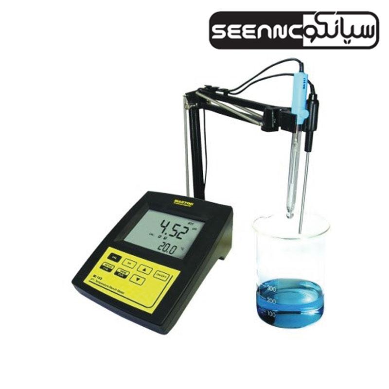 دستگاه EC متر دیجیتال چندکاره رومیزی میلواکی مدل milwaukee MI 170