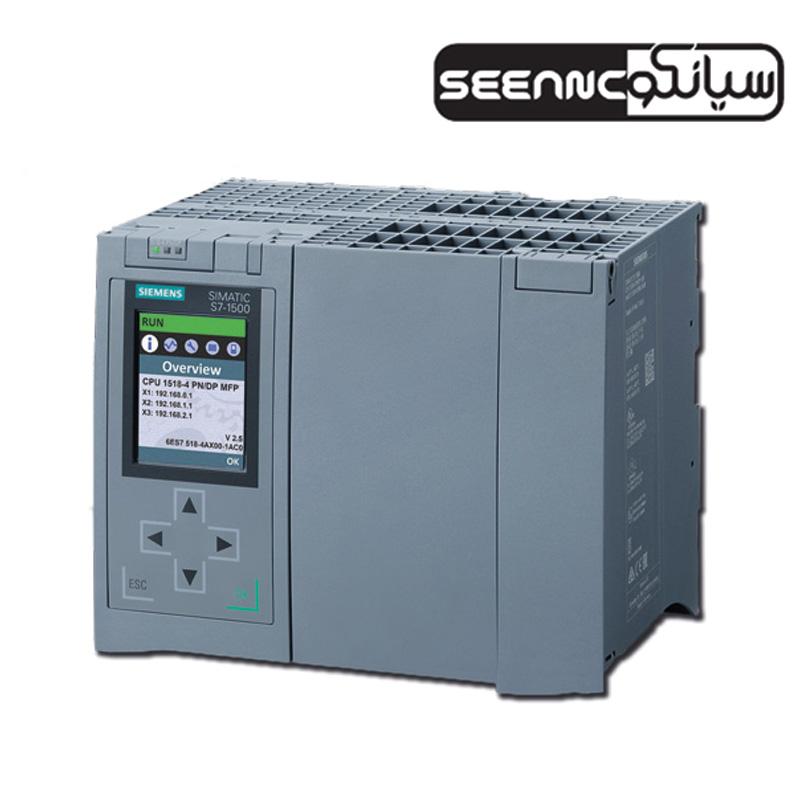 پی ال سی زیمنس مدل  SIMATIC S7 CPU1518 4 DP/PN