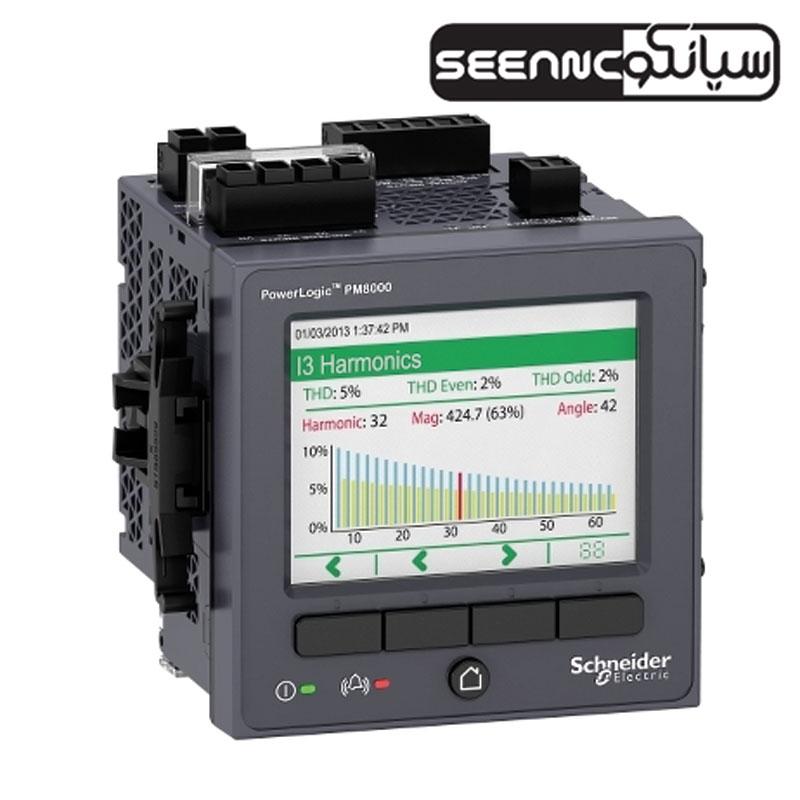 پاور متر تابلویی دیجیتال اشنایدر الکتریک سری Schneider PM8000