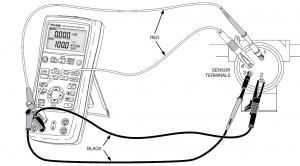 شبیه سازی RTD در فلوک 726