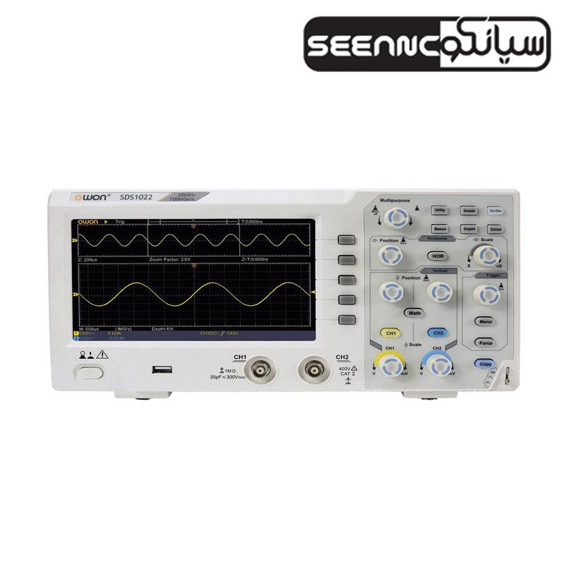 اسیلوسکوپ دیجیتال آزمایشگاهی مدل OWON SDS1022