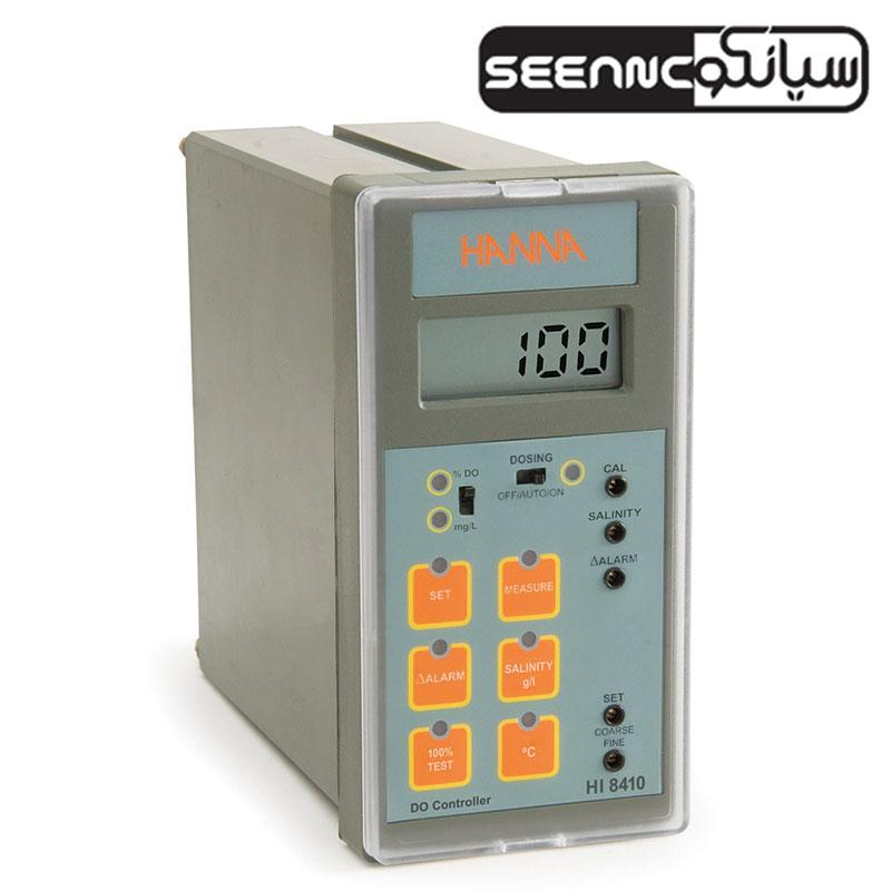 کنترلر اکسیژن محلول با دامنه گسترده و خروجی آنالوگHanna HI 8410