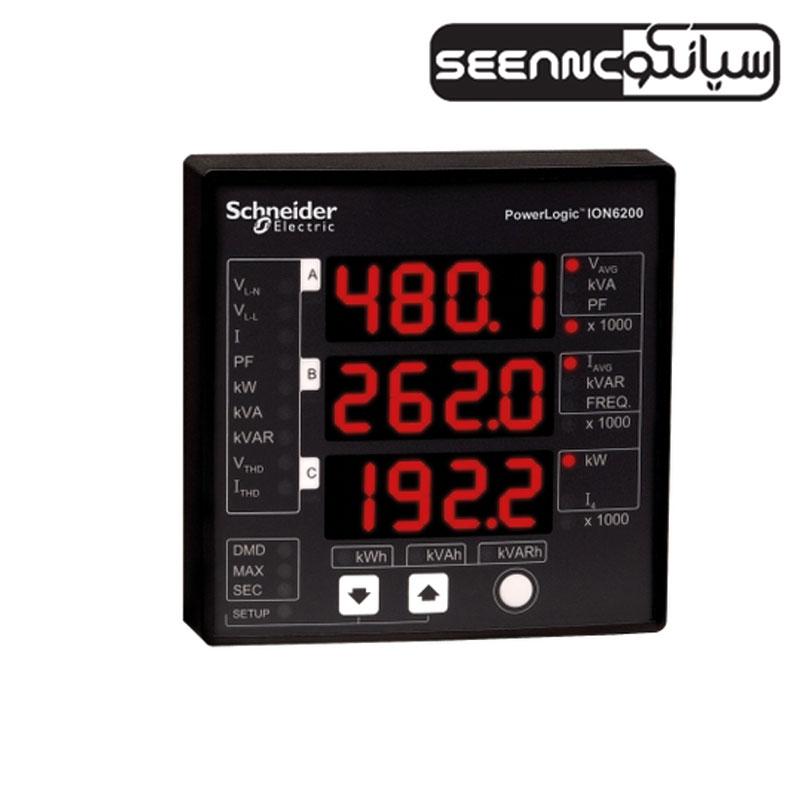 پاورمتر تابلویی دیجیتال اشنایدر مدل Schneider ION6200