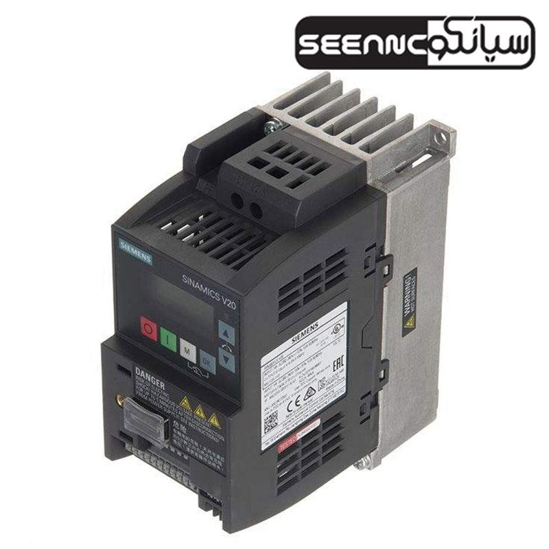 درایو فرکانس متغیر تک فاز زیمنس 6sl3210_5BB13_7UV0