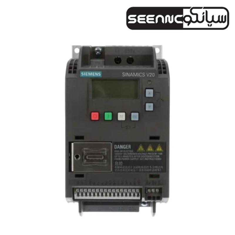 درایو اینورتر تک فاز نمایندگی زیمنس آلمان مدل Siemens SINAMICS 6SL32105BB112UV0