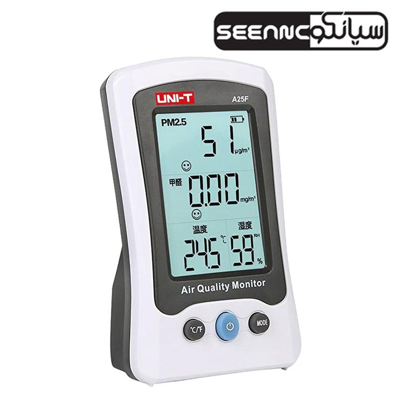 کیفیت سنج هوای محیط، دتکتور گاز فرمالدهید یونیتی UNI-T A25F