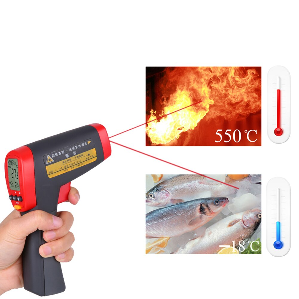 UNI-T-UT301A-Professional-Non-Contact-Infrared-Thermometer-UT-301A-meter-12-1-18-350oC
