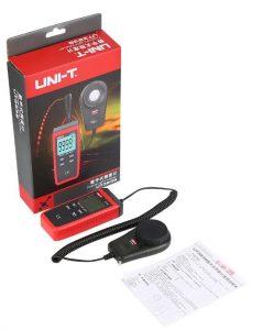 معرفی و خرید لوکس متر ارزان قیمت یونیتی مدل UNI-T UT383S