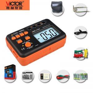 ارت سنج سه سیمه دیجیتال ویکتور مدل VICTOR 4105A