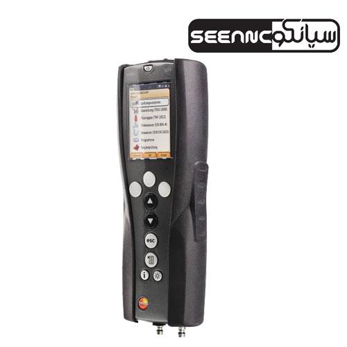 دستگاه سنجش نشت و فشار لوله های آب و گاز مدل testo324