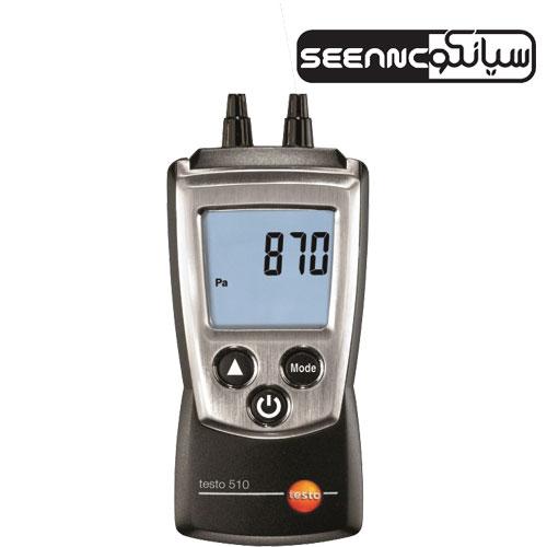 فشار سنج مانومتر دیجیتال TESTO 510